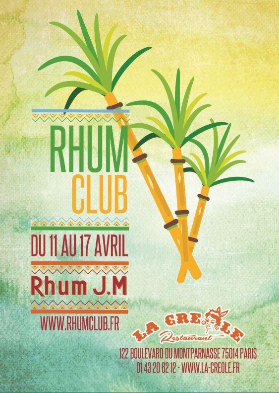 Rhum Club Festival dégustations restaurants La Créole & Caffé Créole Paris