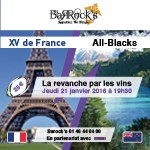 XV de France vs All-Blacks - La revanche par les vins