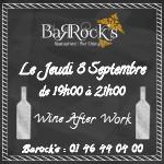 Wine Afterwork