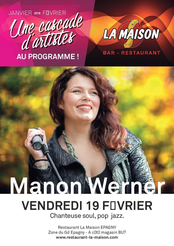 Concert de Manon Werner