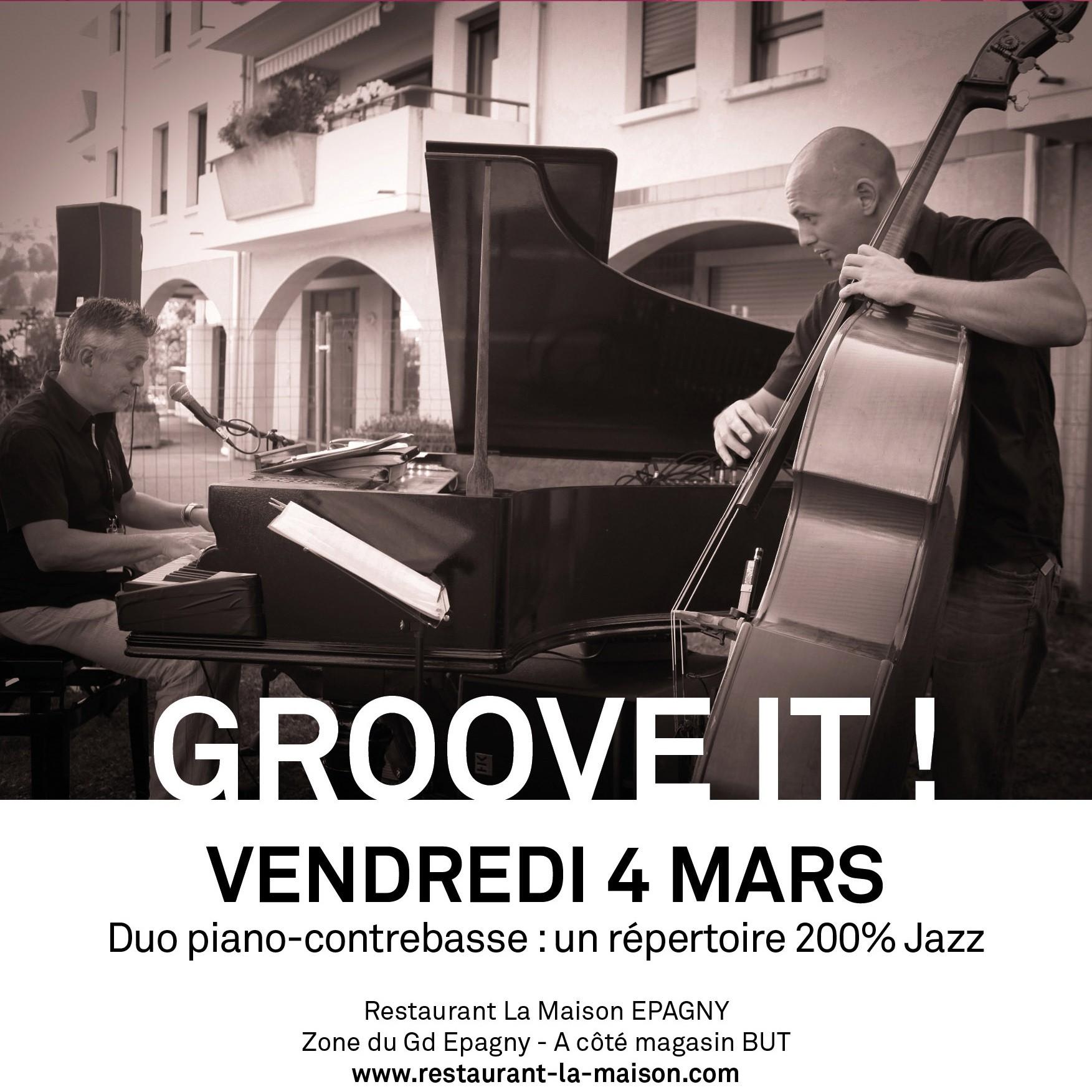 Concert de Groove It !