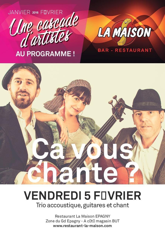 Concert de Ca Vous Chante
