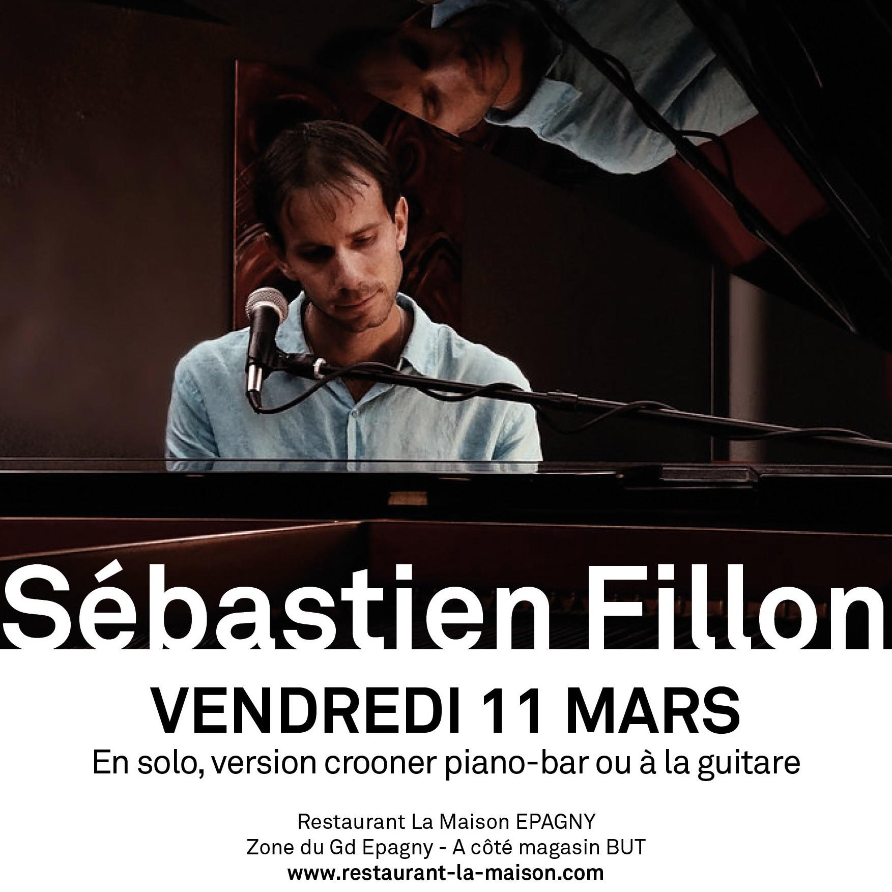 Concert de Sebastien Fillon