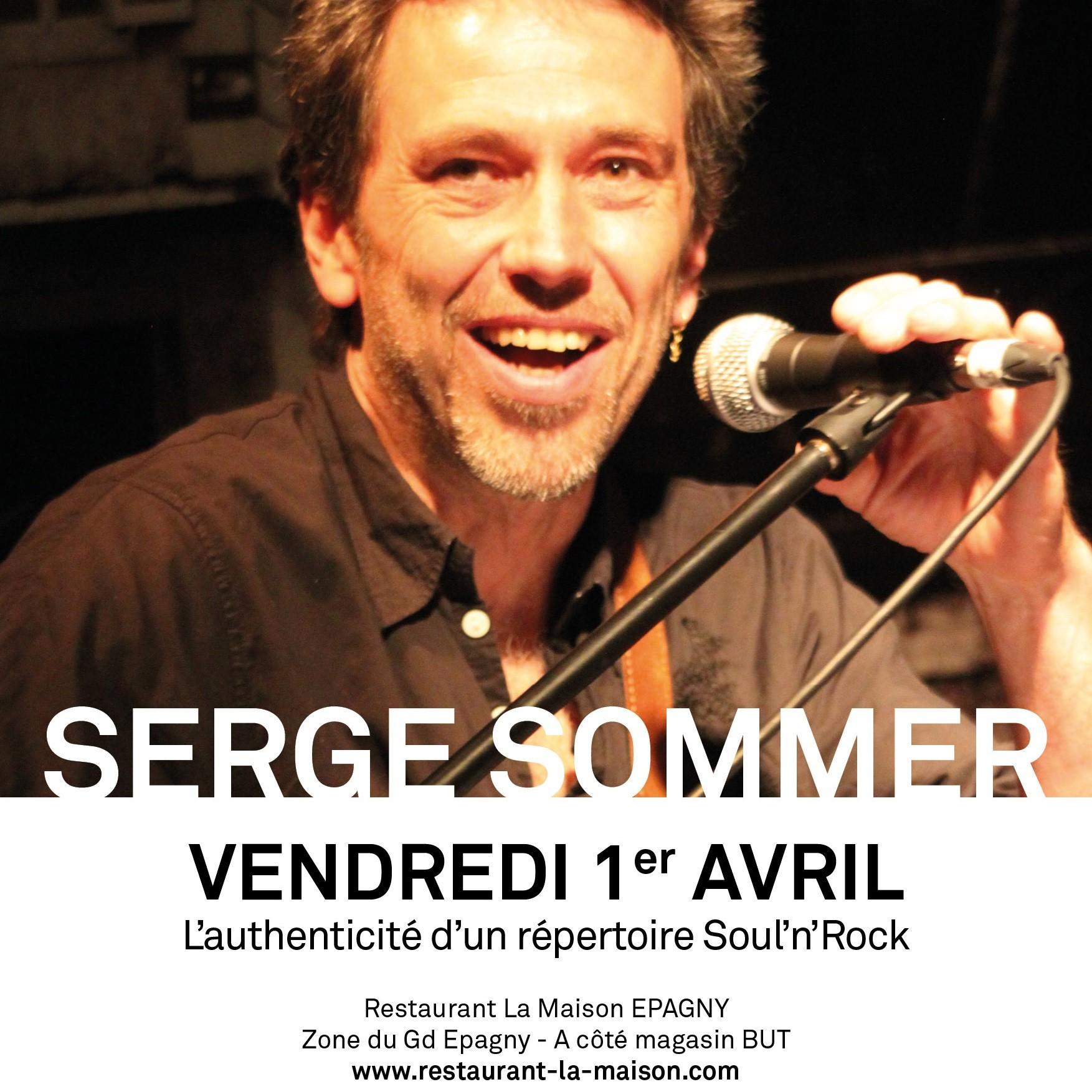 Concert de Serge Sommer