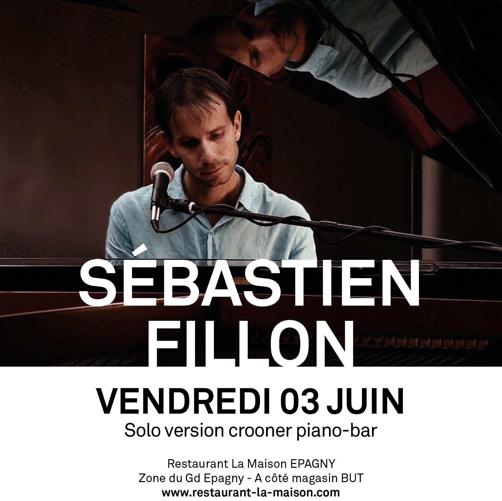 Concert de Sébastien Fillon