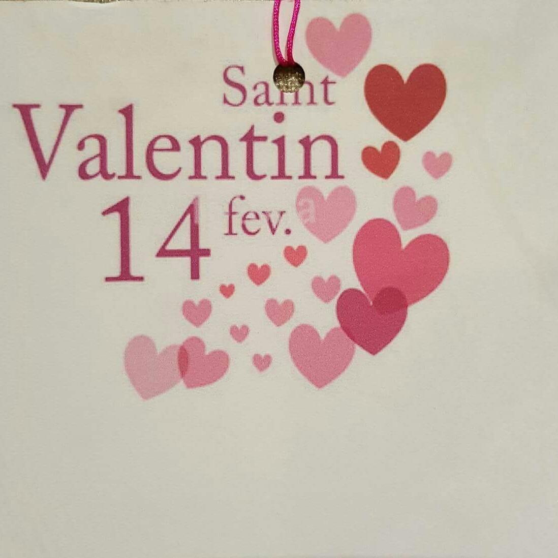 St Valentin - Ouverture exceptionnelle et menu spécial