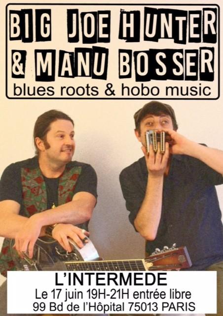 Blues&Foot ce vendredi soir 17 juin à l'Intermède !