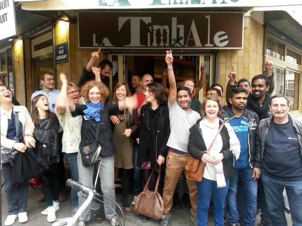 Retour sur le brunch solidaire de La Timbale et des Robins des Rues