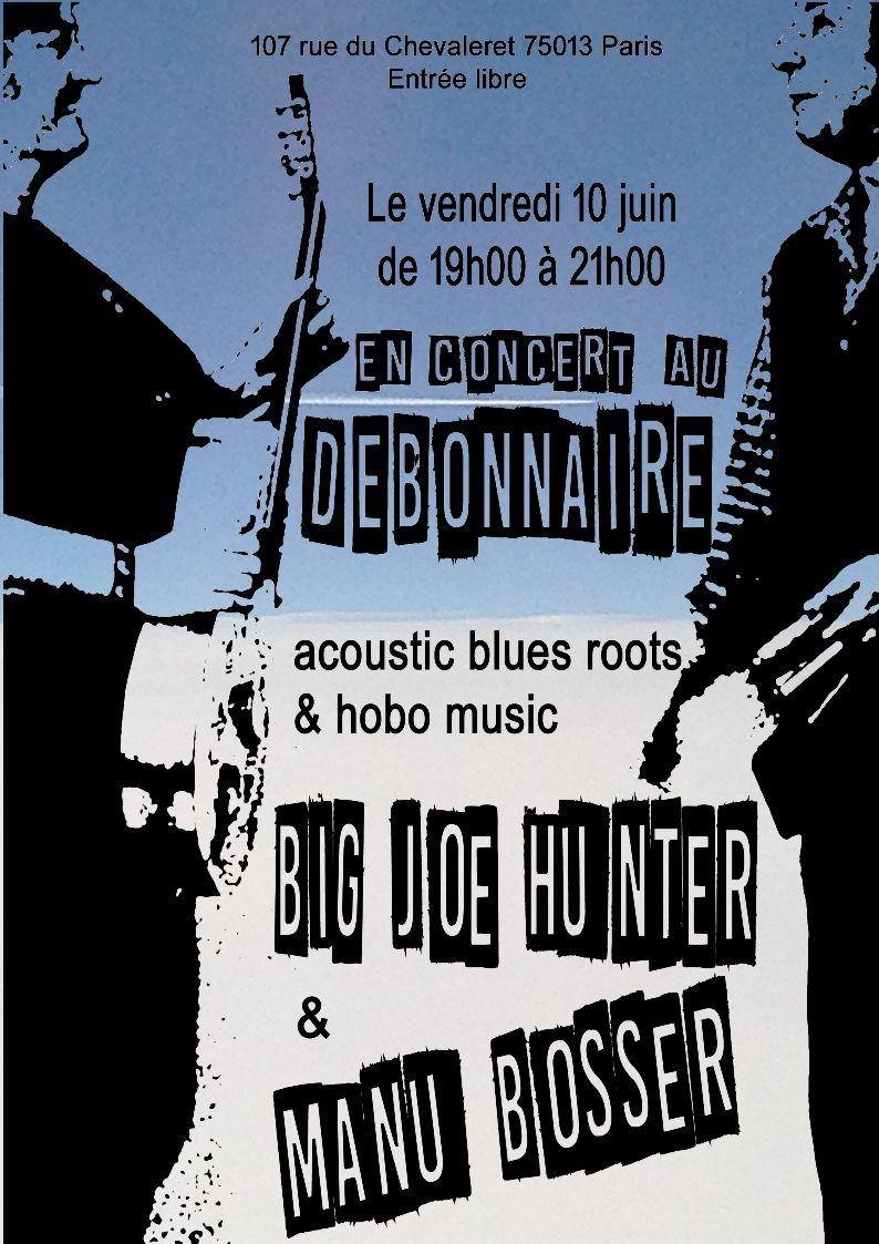 Blues&Foot ce vendredi soir 10 juin au Débonnaire !