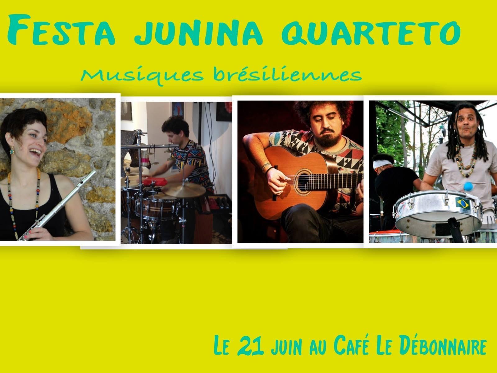 Le Débonnaire fête la musique et l'été aux sons du Brésil!