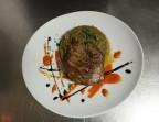 Photo Pluma ibérique, caviar d'aubergines et purée de patates douces - La Salle à Manger