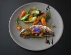 Photo Filet de dorade, légumes croquants de saison et sauce vierge maison - La Salle à Manger