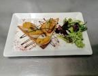 Photo Tartine de boudins blancs et pommes - La Salle à Manger