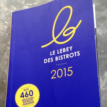 Le Lebey des bistrots 2015
