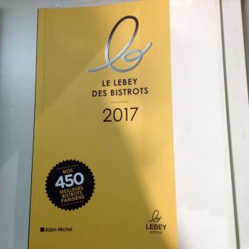Le Lebey des bistrots 2017