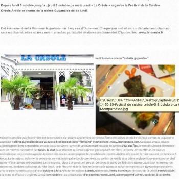 Festival de cuisine créole