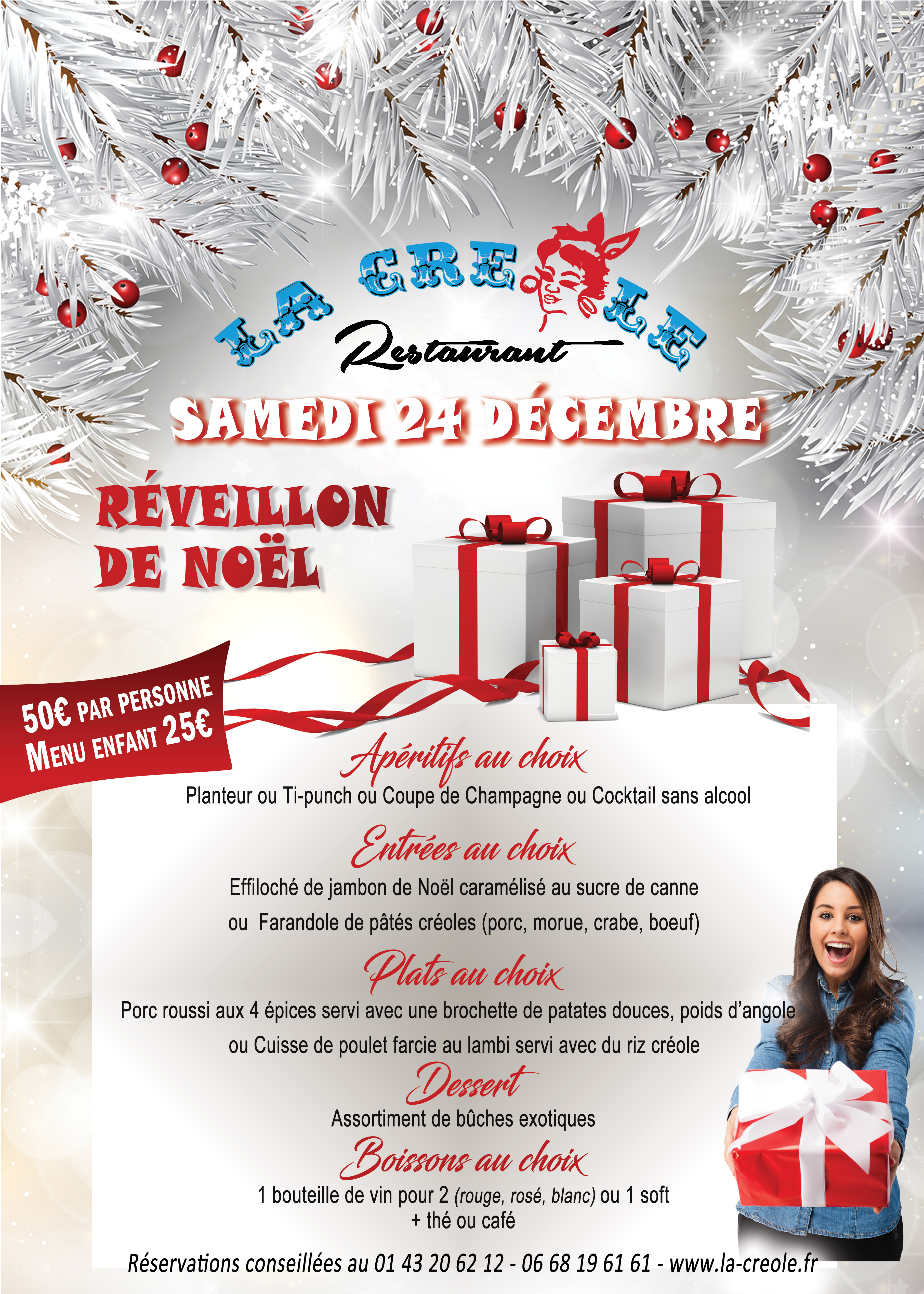 Réveillon de Noël à La Créole