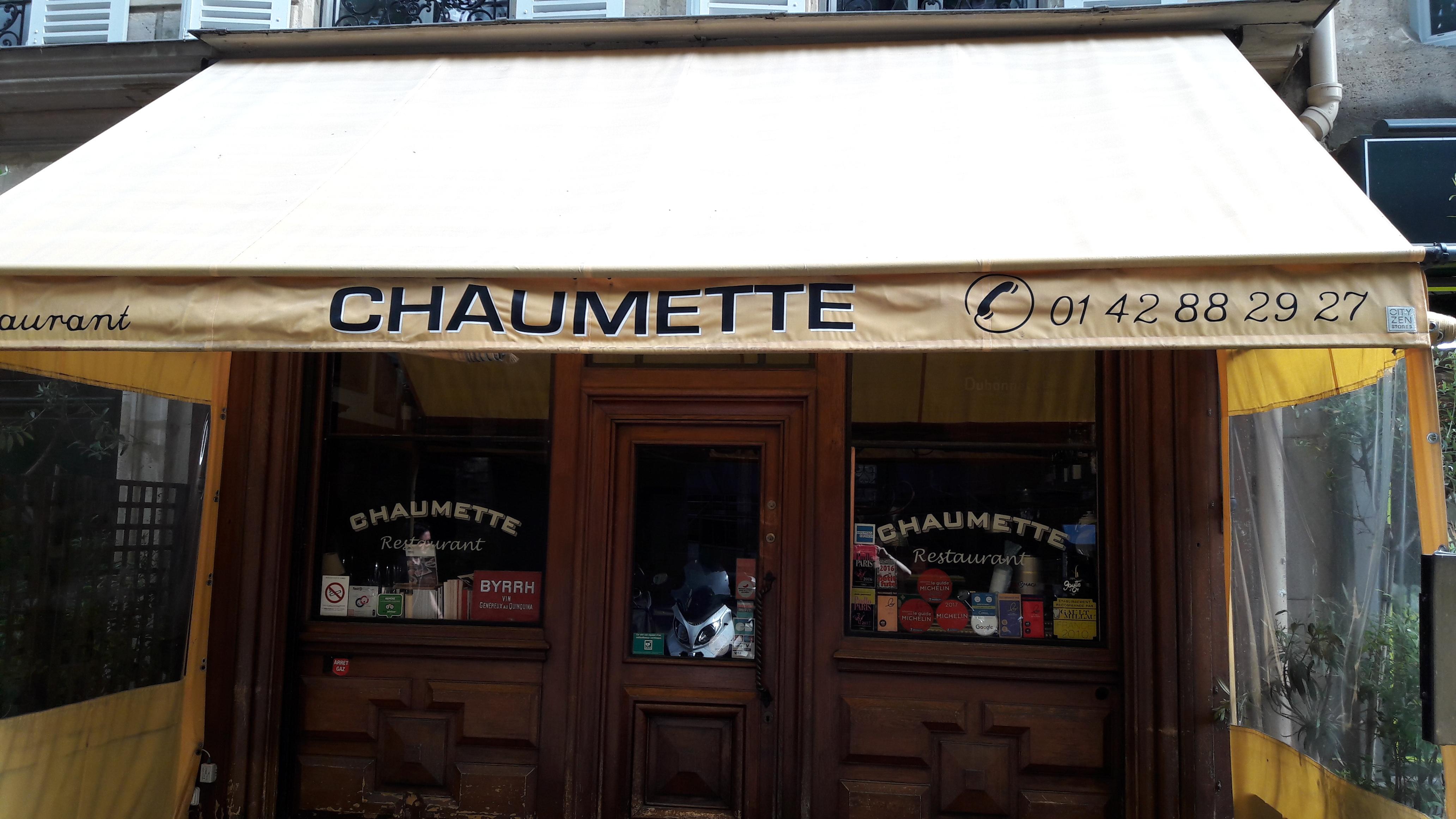 Présentation de Chaumette