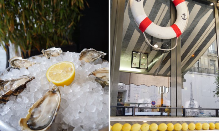 Le bar à fruits de mer