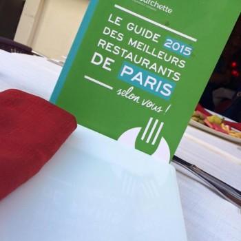 Guide La Fourchette 2015 des meilleurs Restos de Paris