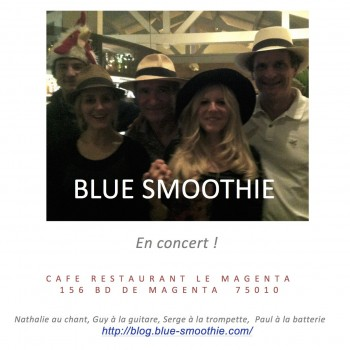 CONCERT BLUE SMOOTHIE