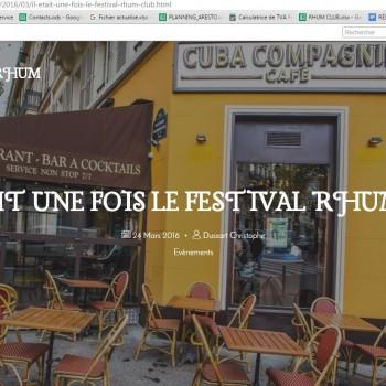 http://passion-du-rhum.overblog.com/ - Il était une fois le festival rhum club