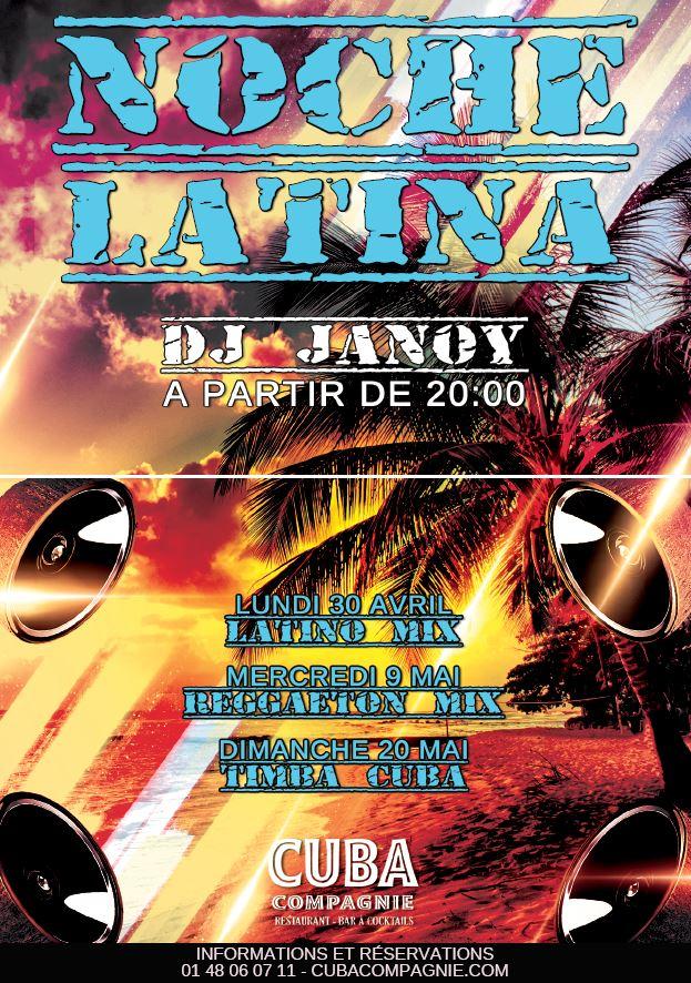 Noche Latina #Timba Cuba | DJ Janoy