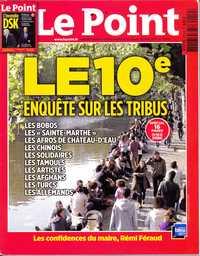 Le Point 26 mai 2011, Jérôme Cordelier et Christine Rigollet