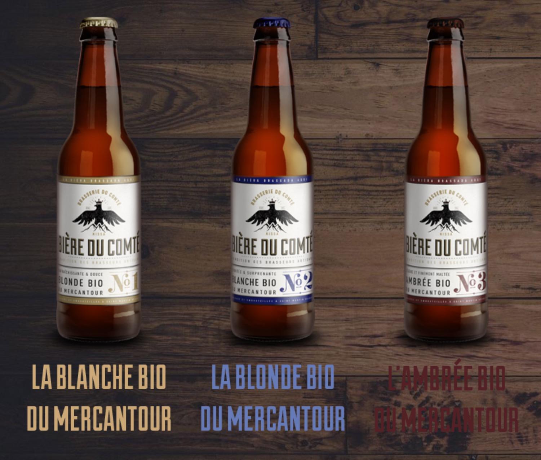 Les Garçons vous proposent les bières bio du comté de Nice.