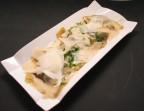 Photo Ravioles aux champignons et crème à la truffe, copeaux de parmesan - Bistrot Gourmand