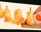 Photo Beignets de fleurs de courgettes à la ricotta et basilic, sauce douce légèrement épicée - Bistrot Gourmand