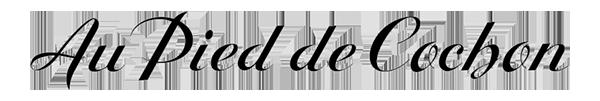 Logo Au Pied de Cochon