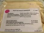 Photo Filet de poulet Maroilles - La Petite Table