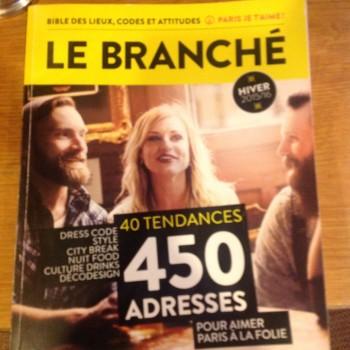 """""""Le Branché""""    Bar à Champagne"""