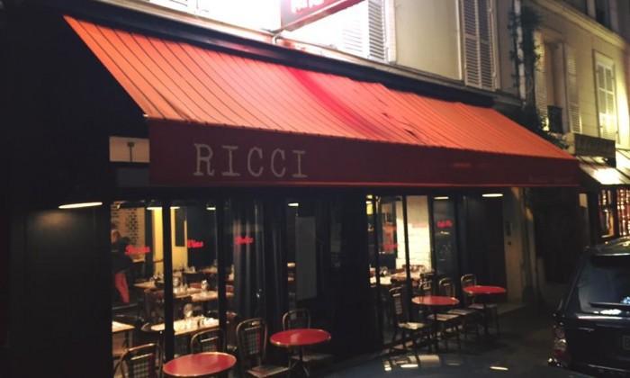 ricci paris restaurant italien. Black Bedroom Furniture Sets. Home Design Ideas