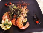 Photo Trio de Gambas grillée - Restaurant El Tio