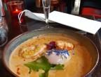 Photo Oeuf parfait 64°, velouté de légumes anciens parfumés à l'huile de truffes. - Restaurant El Tio