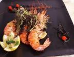 Photo Un trio de gambas mariné au Sofrito - Restaurant El Tio