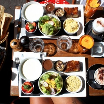 Un petit brunch gourmand près de Trocadero au bistro Le Poincaré