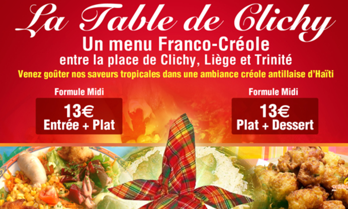 Photo La Table de Clichy
