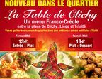 La Table de Clichy