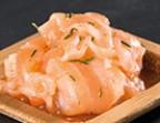 Photo Carpaccio de saumon - 18 PIÈCES - La Toque Verte