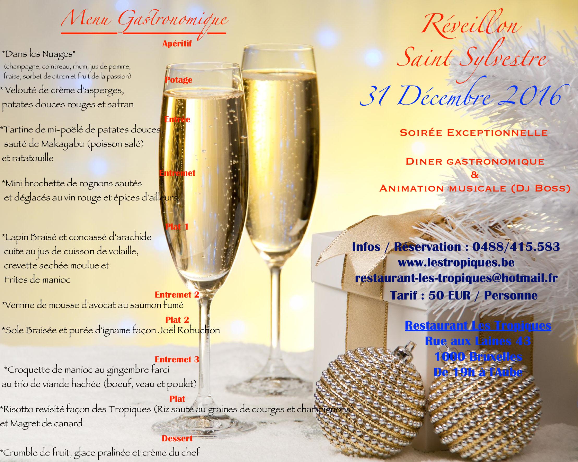 Réveillon Saint Sylvestre 2017 / New Year's Eve 2017