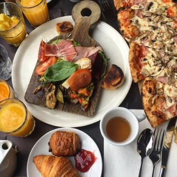 5 brunchs italiens à Paris