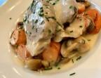 Photo Blanquette de veau maison , riz basmati et petits légumes - Les petits plats