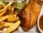 Photo Travers de porc maison Mas confits, sauce barbecue et frites maison - Les petits plats