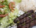 Photo Kafta (Brochette de Viande de Boeuf au persil & épices parfumantes)) - Les Cèdres du Liban