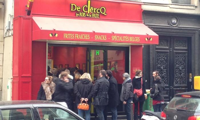 De Clercq, les Rois de la Frite Montmartre