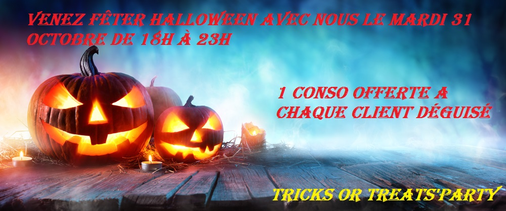 TRICKS OR TREATS'PARTY