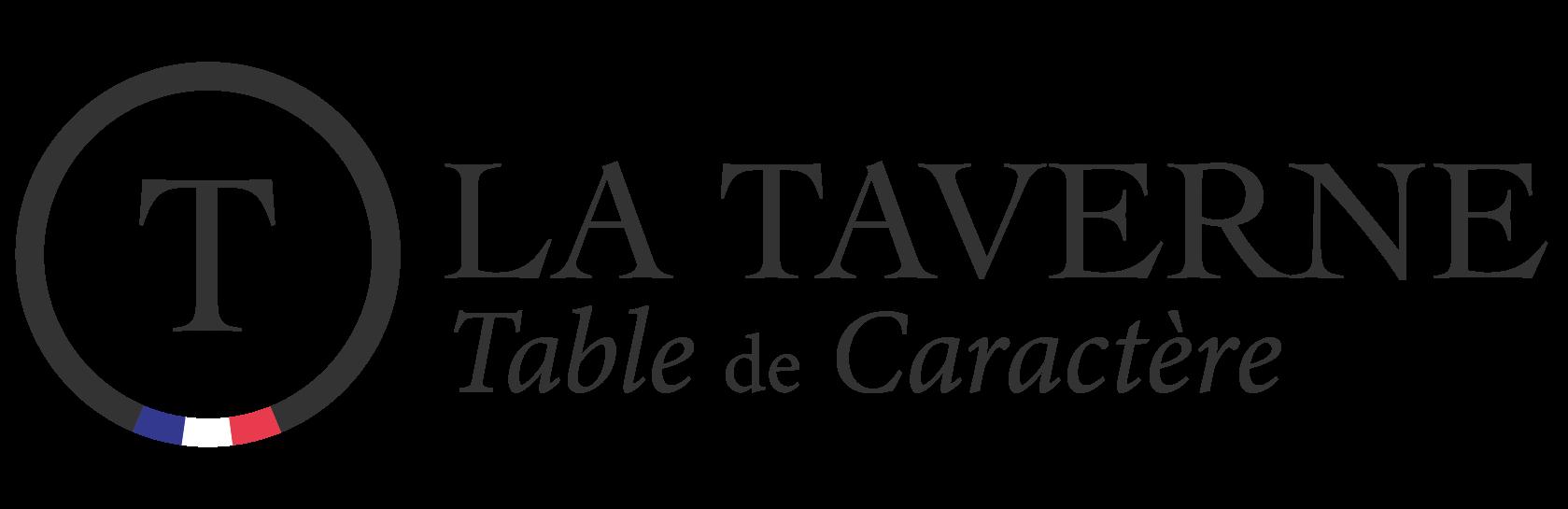 Logo La Taverne - Table de caractère - Le Mans Sud